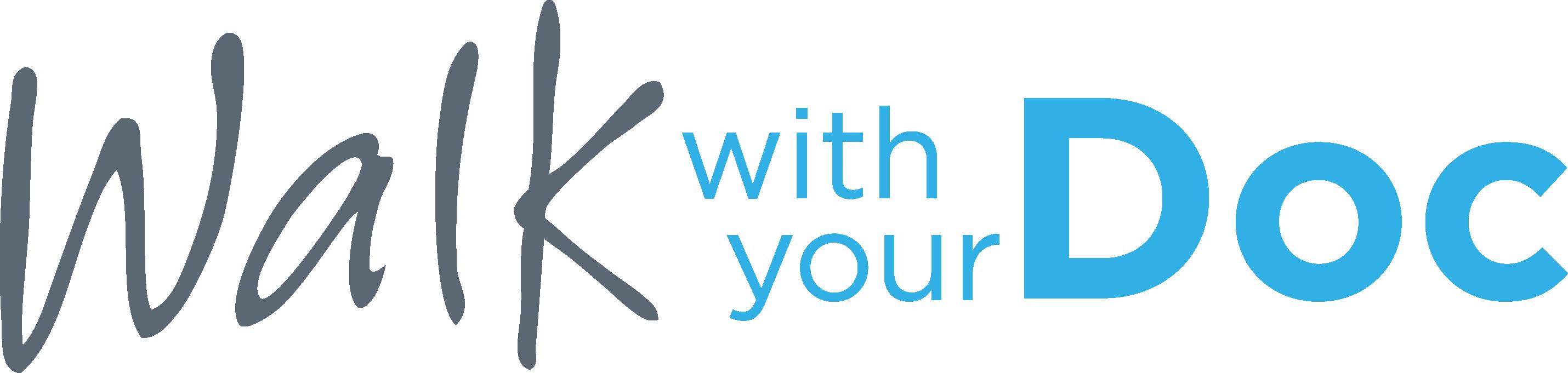 walk with your doc logo cmyk
